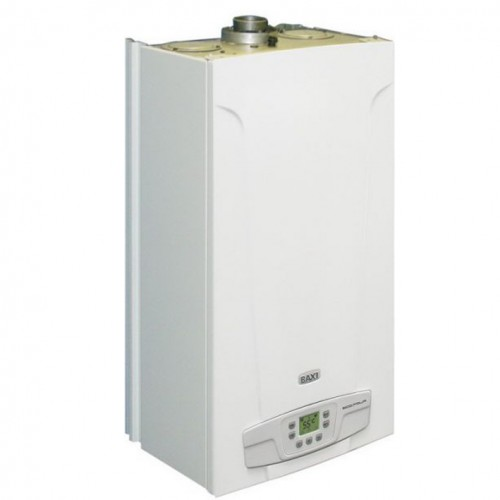 Baxi MAIN Four 240 Fi с трубой